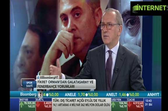 Fatih Altaylı: Birinin Fikret Orman'a haddini bildirmesi gerek!