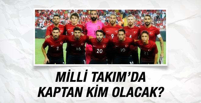 Milli Takım'da kaptan kim olacak?