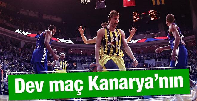 Fenerbahçe şanssızlığını kırdı Anadolu Efes'i yendi