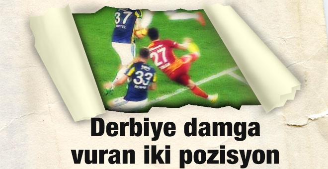 Fenerbahçe Galatasaray derbisinde penaltı itirazı