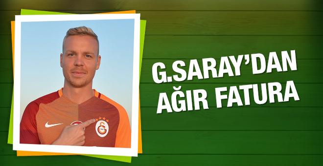 Galatasaray'da Sigthorsson'a ağır fatura