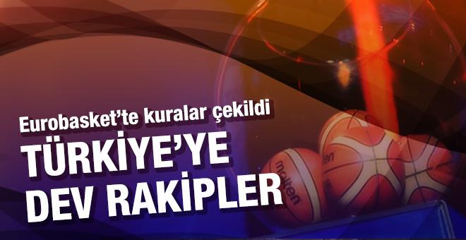EuroBasket 2017'de Türkiye'ye güçlü rakipler