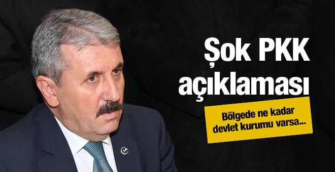 Devletin orada ne kadar kurumu varsa PKK... BBP lideri açıkladı