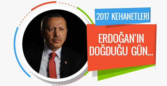 Astrologların 2017 kehanetleri Erdoğan'ın doğduğu gün...