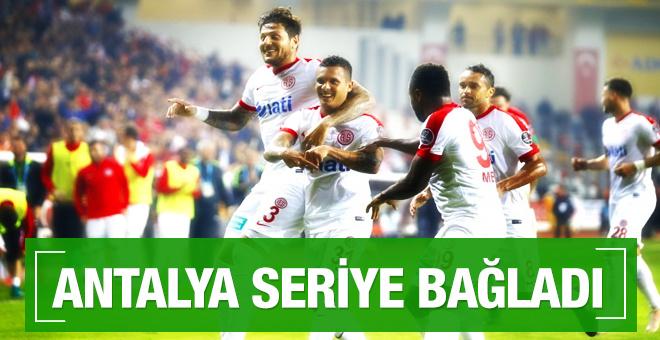 Antalyaspor Adanaspor maçı sonucu ve özeti