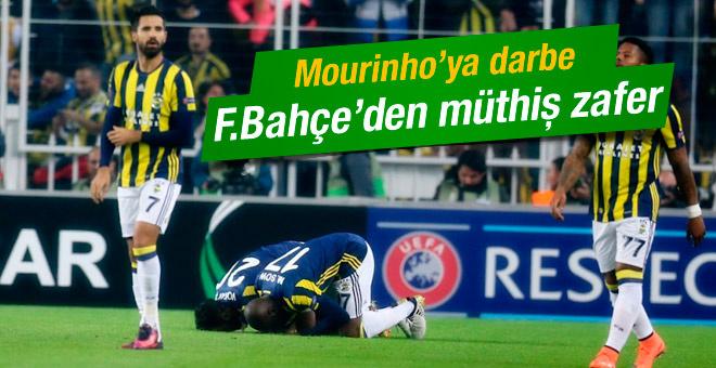 Fenerbahçe Manchester United maçının sonucu ve golleri