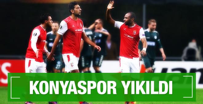 Atiker Konyaspor Braga maçı sonucu ve özeti