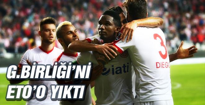 Antalyaspor Gençlerbirliği maçı sonucu ve özeti