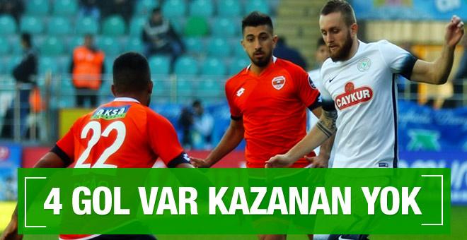 Çaykur Rizespor-Adanaspor maçının geniş özeti