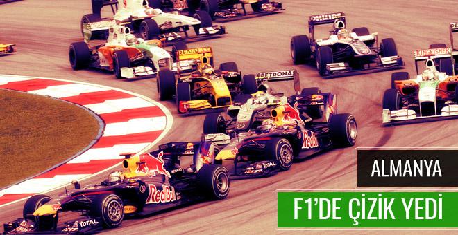 Almanya Formula 1 takviminden çıkarıldı