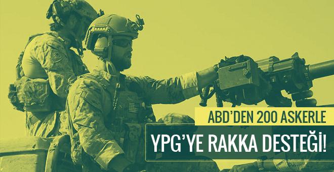 ABD'den PYD'ye  200 askerle Rakka desteği!