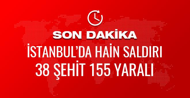 İstanbul'da patlama son dakika haberler geliyor