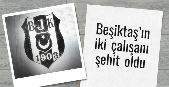 Beşiktaş'tan üst üste şehit açıklamaları