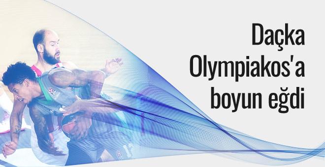 Daçka Olympiakos'a boyun eğdi