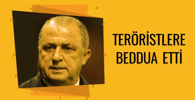 Fatih Terim'den teröristler için ağır sözler