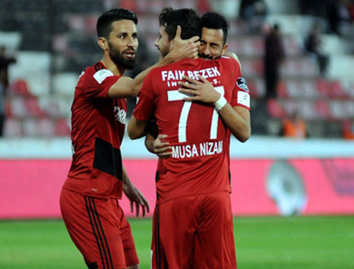 Gaziantepspor kupa maçında istediğini aldı