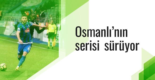 Osmanlıspor yenilmezlik serisini sürdürüyor