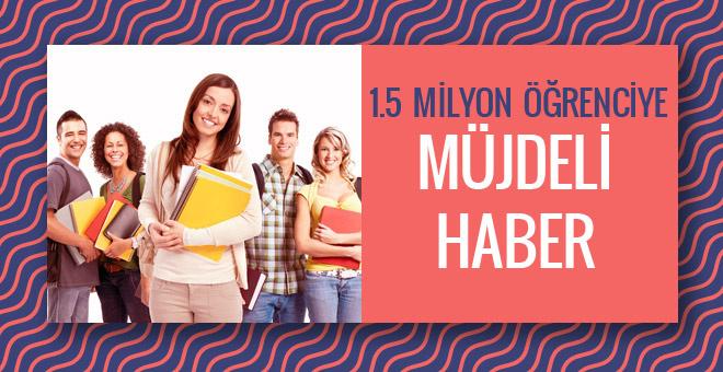 AÖF sınavları 1.5 milyon öğrenciye müjde!