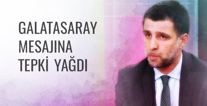 Hakan Şükür'ün Galatasaray mesajına tepki yağdı