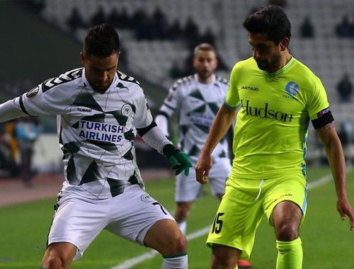 Konyaspor kaybederek kapattı