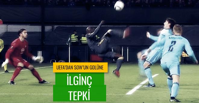 Moussa Sow'un golü sosyal medyayı salladı!