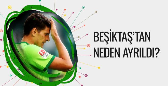 Gomez Beşiktaş'tan neden ayrıldığını açıkladı