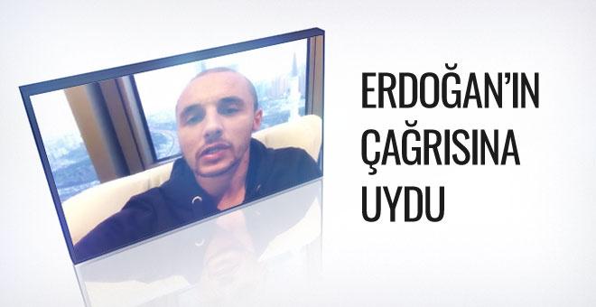 Fenerbahçeli futbolcudan döviz çağrısı