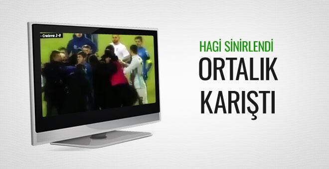 Gheorghe Hagi maç sonu çileden çıktı