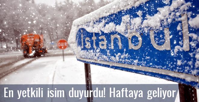 Kar İstanbul'a geliyor son hava durumu(09.12.2016) tahmini