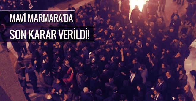 Mavi Marmara davasında karar verildi!