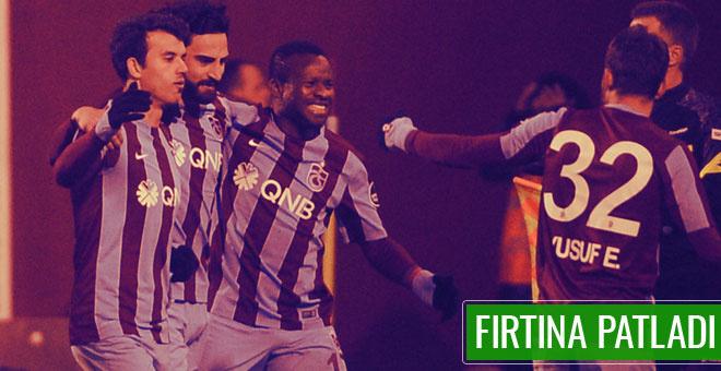 Trabzonspor - Adanaspor maçının geniş özeti ve sonucu