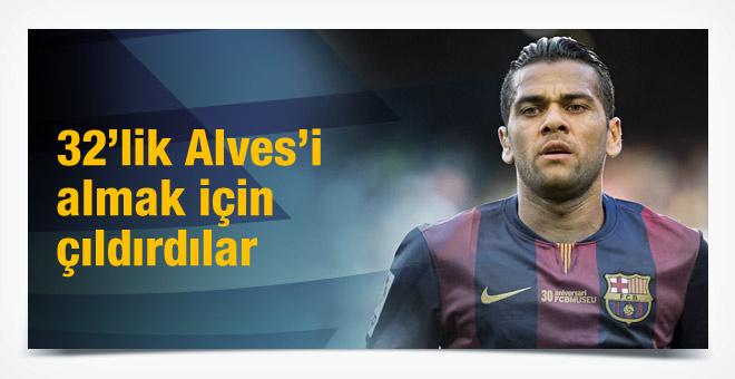 Çin Alves için 120 milyon teklif etti