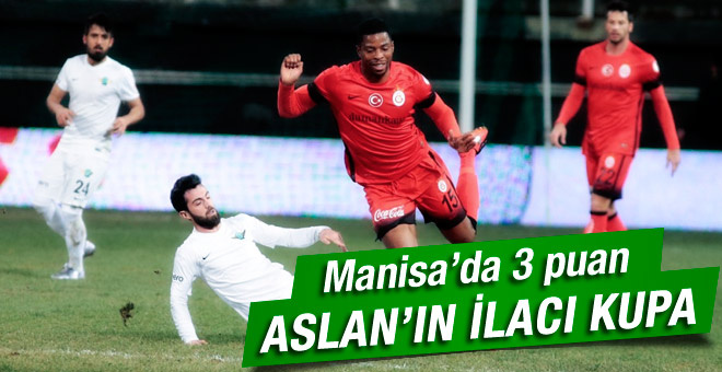 Akhisar Belediyespor - Galatasaray maçının özeti ve golleri
