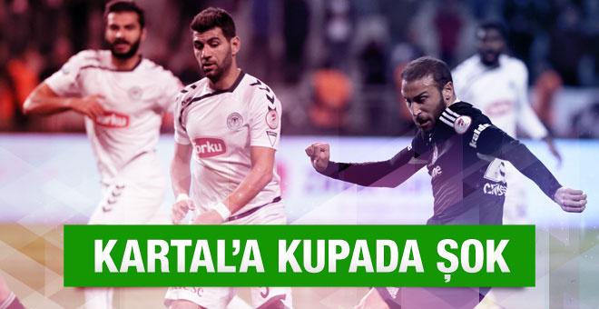 Beşiktaş Torku Konyaspor maçının özeti ve golleri