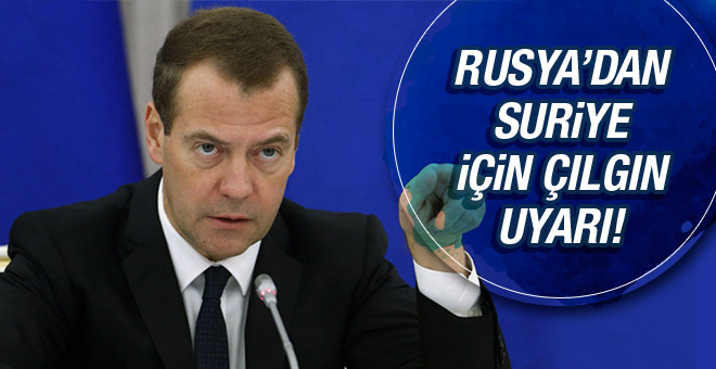Rusya'dan Suriye için çılgın uyarı: Dünya savaşı!