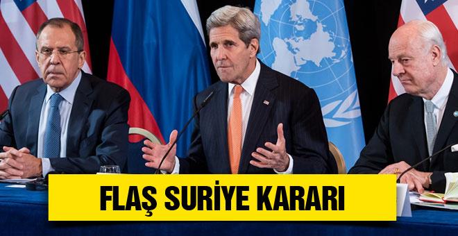 ABD'den flaş Suriye açıklaması 1 hafta içinde...