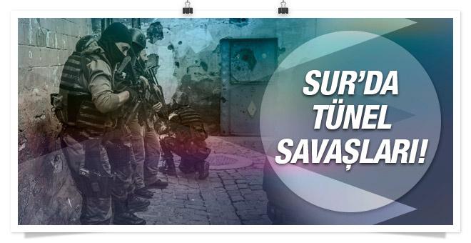 Sur'da bulunan üç yeni tünel girişi de tutuldu