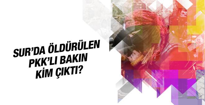 Askerin aradığı PKK'lı Sur'da öldürüldü