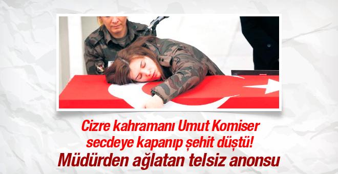 Polis müdüründen ağlatan Cizre anonsu