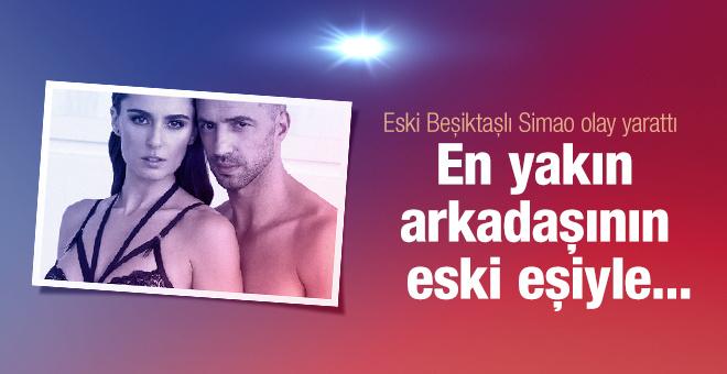 Eski Beşiktaşlı Simao'dan olay yaratan pozlar!