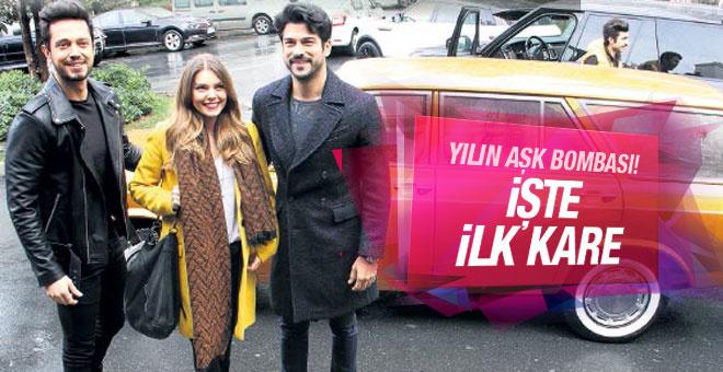 Aslı Enver ve Murat Boz'dan aşk pozu! Birbirlerine sarılıp...