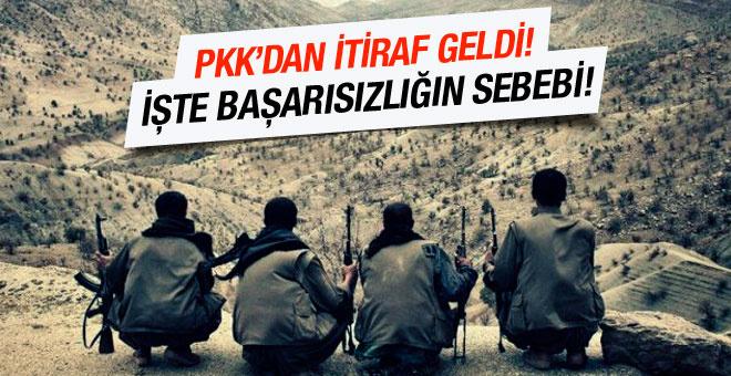 PKK'nın dağ kadrosundan Cizre itirafı!