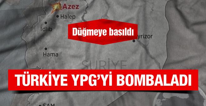 Suriye'de YPG mevzileri vuruldu ölü ve yaralılar var
