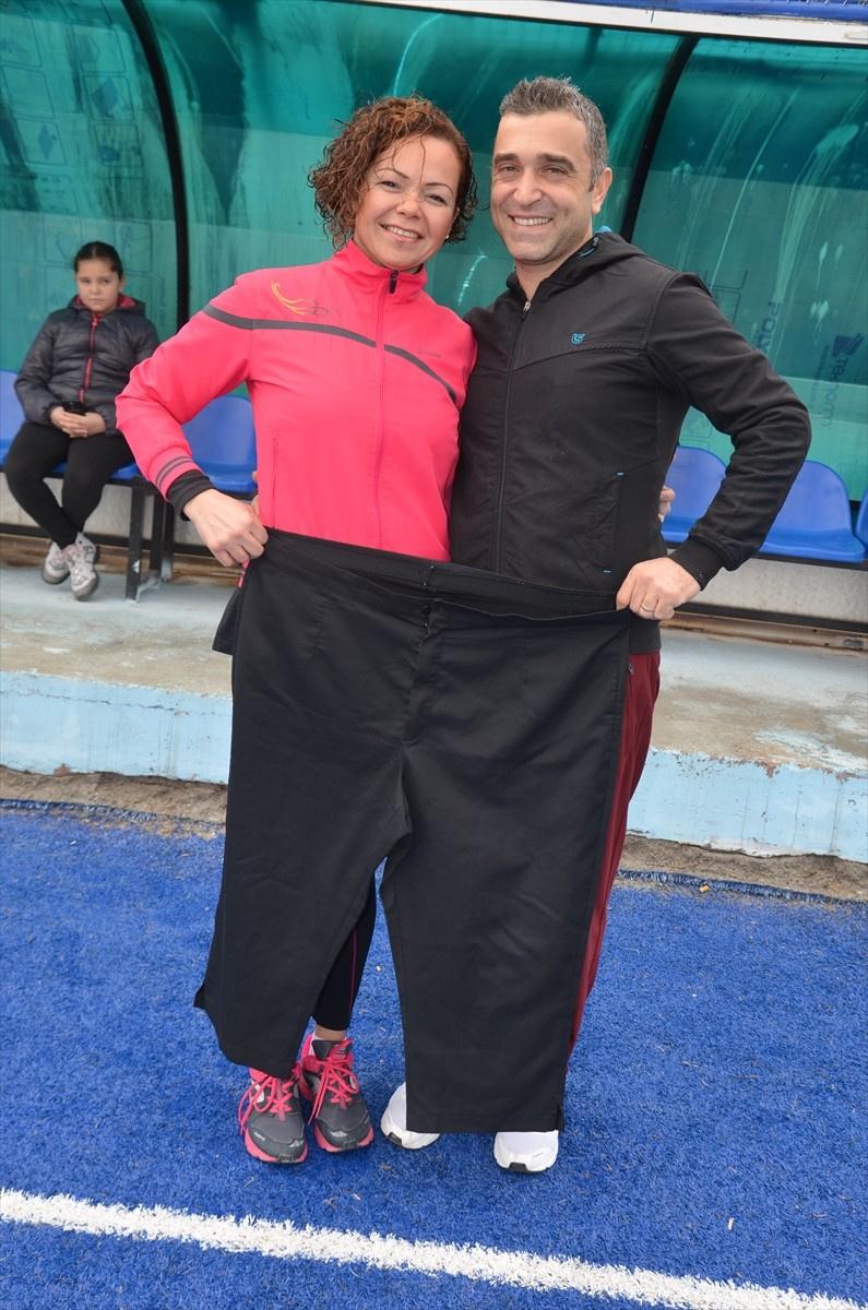 Sibel Diye Biri 44 Kilo Vermiş