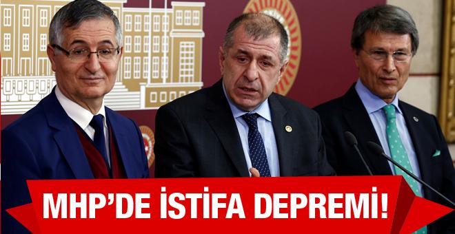 MHP'de flaş gelişme Ümit Özdağ istifa etti