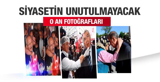 Siyasi liderlerin unutulmayacak fotoğrafları! Biri var ki