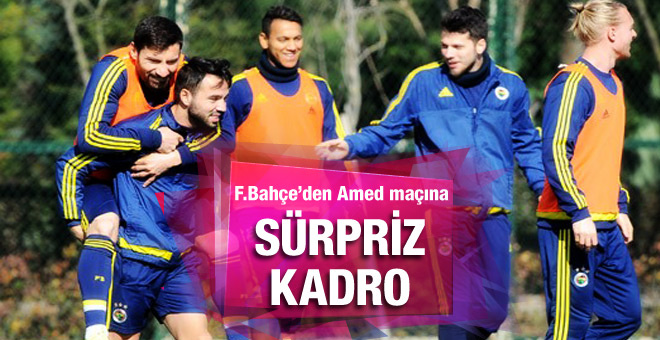 Fenerbahçe'nin Amed maçı kadrosuna yıldızlar alınmadı