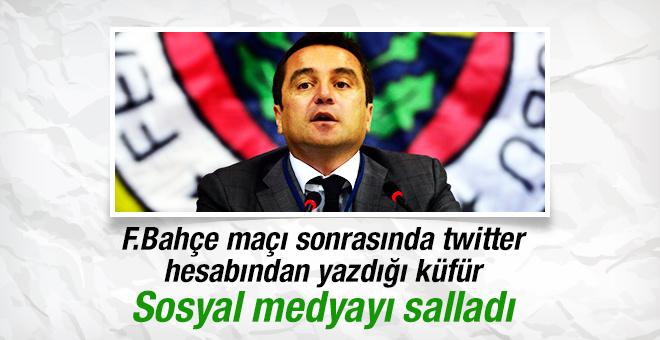 Fenerbahçeli yönetici gündem oldu!