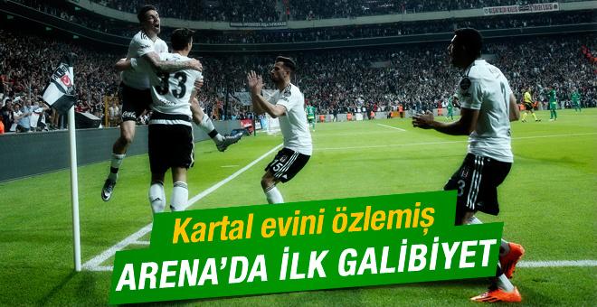 Beşiktaş Bursaspor maçının geniş özeti ve Arena'daki golleri
