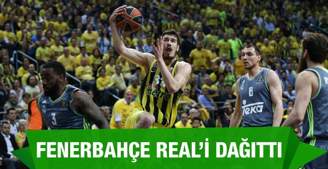 Fenerbahçe Real Madrid maçının sonucu ve özeti